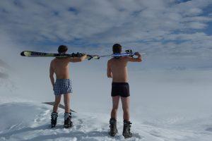 equipación esquí